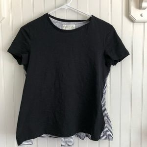 Broome street x Kate spade stripped top size s